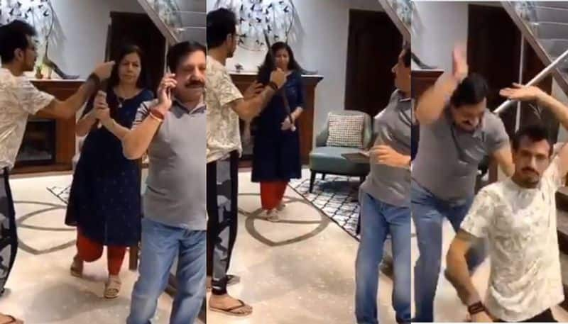 Yuzvendra Chahal share another funny video with his family