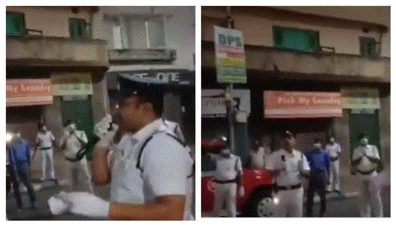 Kolkata Police gives iconic song Bela Bose a coronavirus twist in roadside