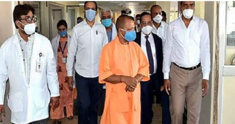 Yogi government created corona care fund of Rs 1000 crore