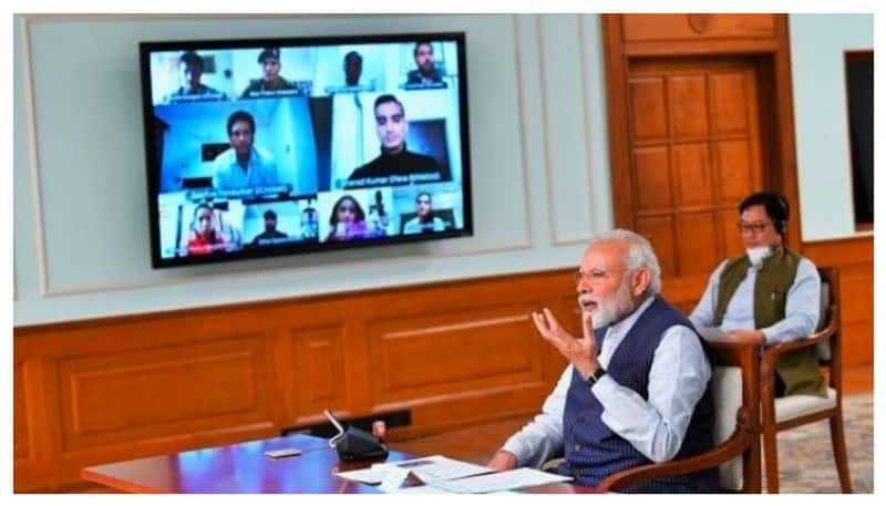 PM Modi Meet With 40 Sports star's about coronavirus pandemic