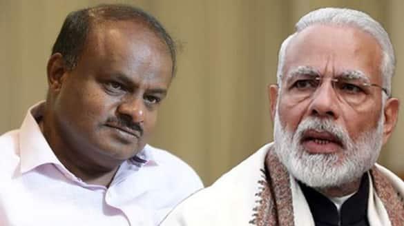 HD Kumaraswamy To decide MP Narendra Modi Meet Over mekedatu project rbj