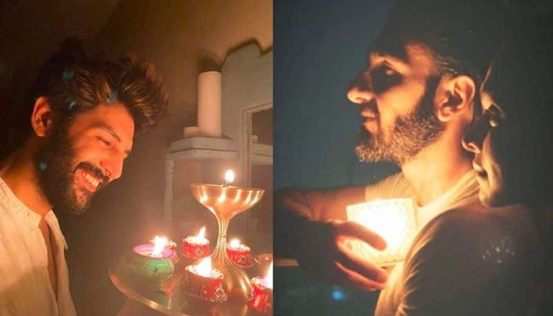 Celebrities showed support modi by lighting candles