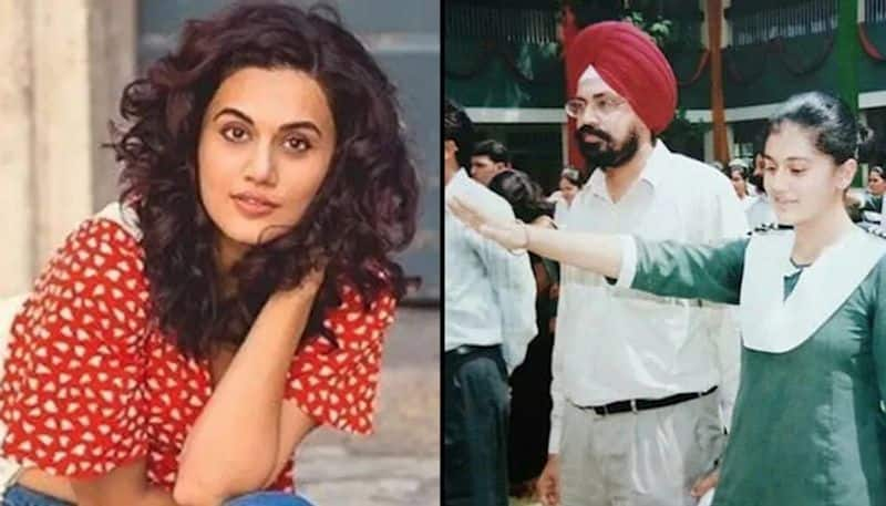 Taapsee pannu shared her school days picture