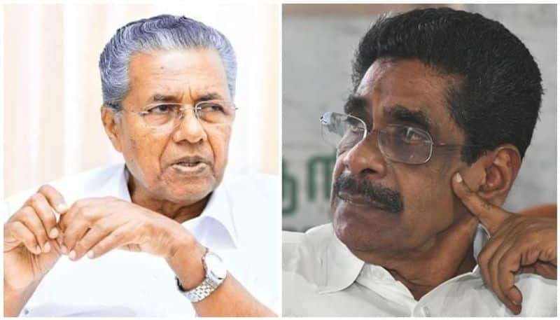 Mullappally slams pinarayi Vijayan on  sprinklr deal