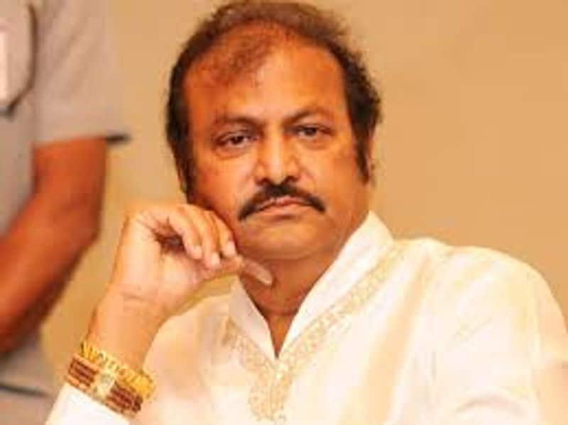 ghmc fines actor mohan babu for 1 lakh ksp