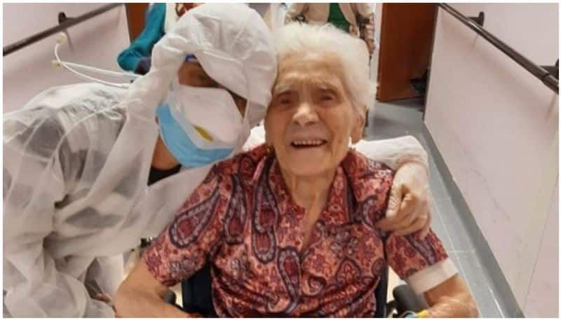 103 year-old Italian woman recovers from covid 19