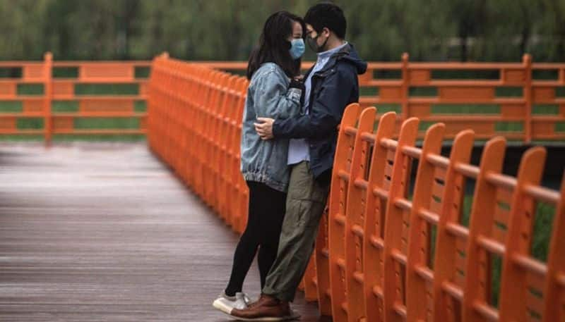 Wuhan couples were so eager to marry after lockdown ended