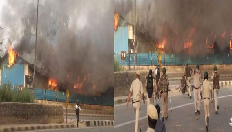 Delhi Shelter Allegedly Set On Fire By Inmates After Fight Over Food