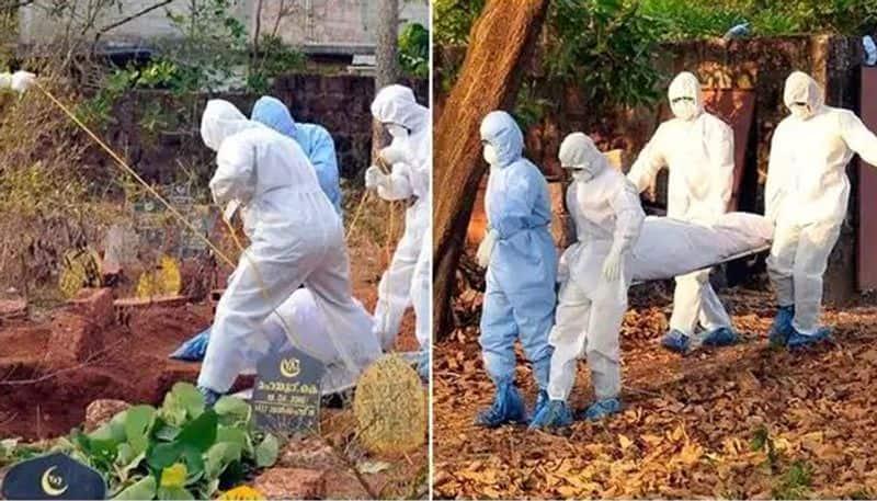 corona victims dead body buried as per the protocol in kannur