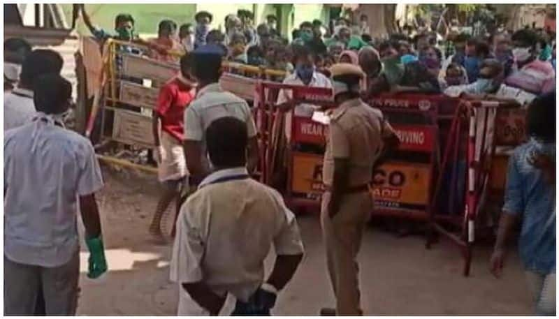 daily wages employees protest in tamilnadu