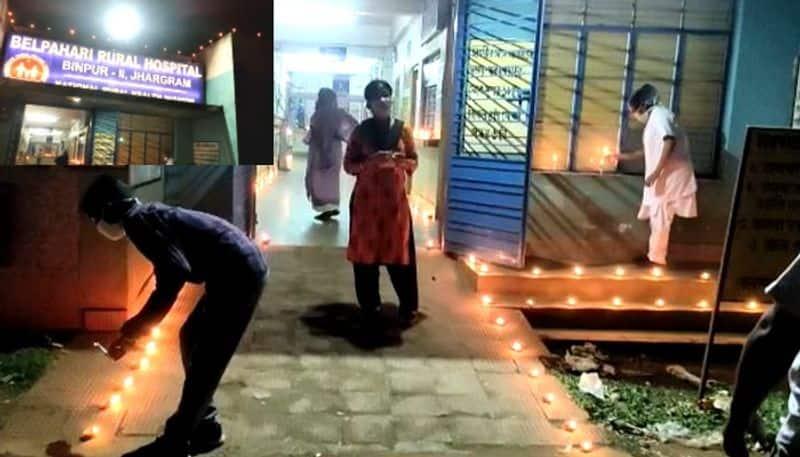 Medical officer show caused for lighting pradip in hospital on Narendra Modis nine minute call