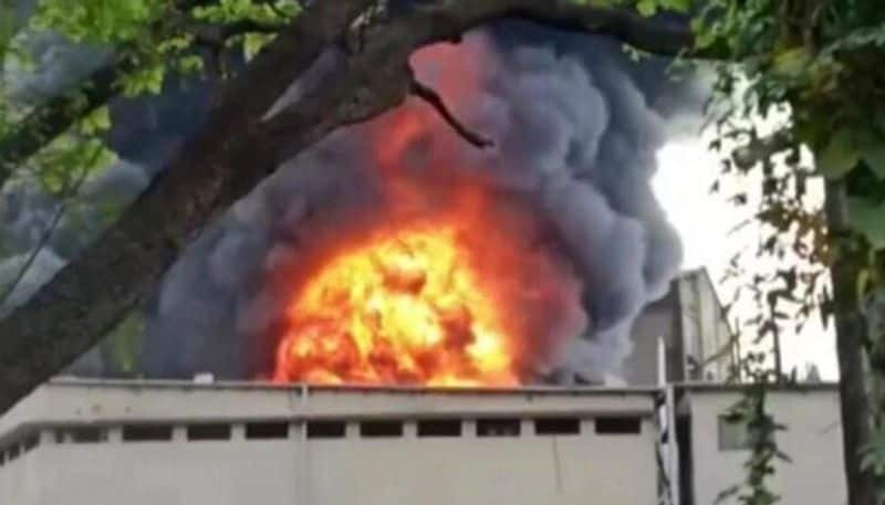 maharastra blast in sanitiser unit of a chemical factory   killed 2 workers