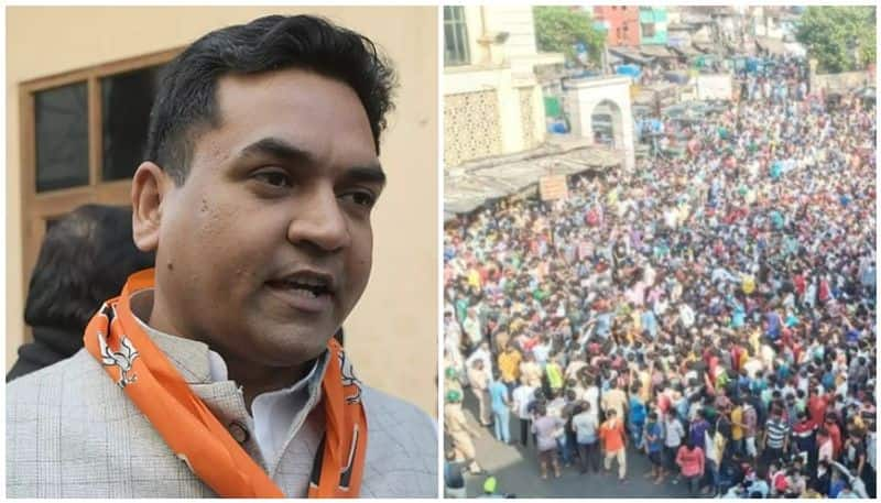 Why werent people carrying bags if they wanted to go back home? asks Kapil Mishra