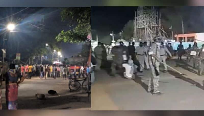 Protests surround dead body with corona symptoms in Bankura