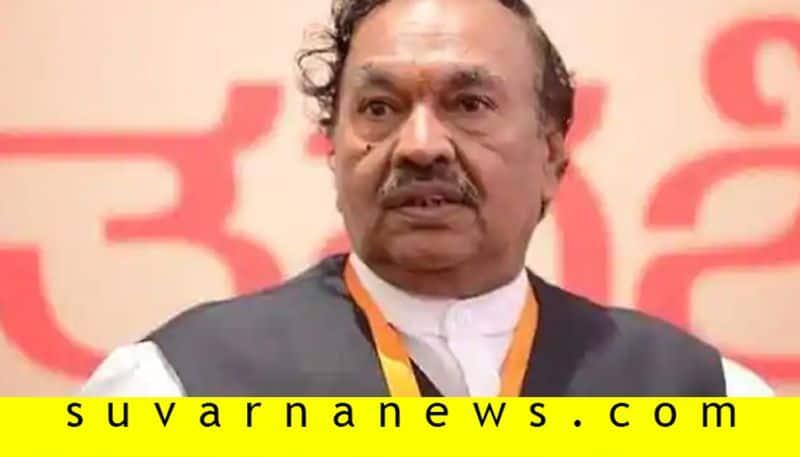 Minister K S Eshwarappa Talks Over Karnataka Politics