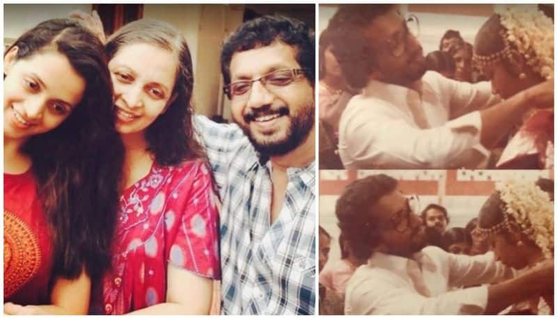 <p>Malayalam actress Bhavana on Friday shared a picture of her parents and remembered them on their wedding anniversary</p>