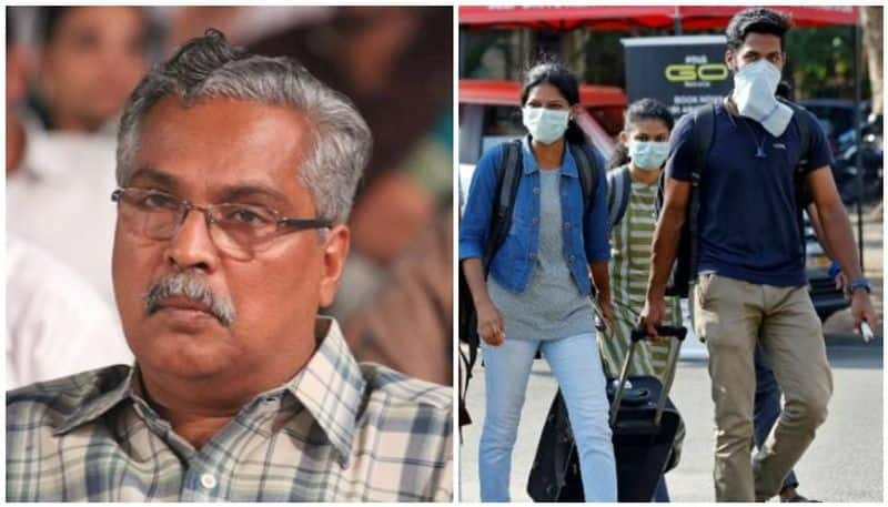 covid binoy viswam wrote letter to delhi cm arvind kejriwal on students issue