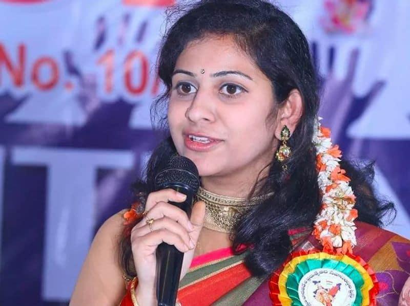 Sadineni Yamini Sharma as BJP Mahila Morcha state secretary - bsb