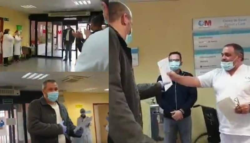 doctors surprise spanish taxi driver for giving free ride to patients