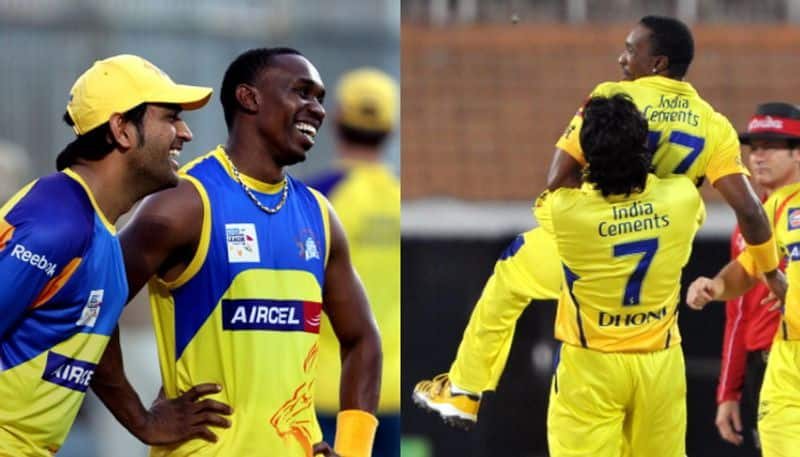 Dwayne Bravo shares glimpse of new song on MS Dhoni