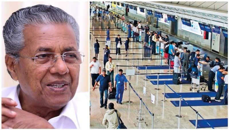 kerala chief minister pinarayi vijayan demands specials financial package for returning expatriates