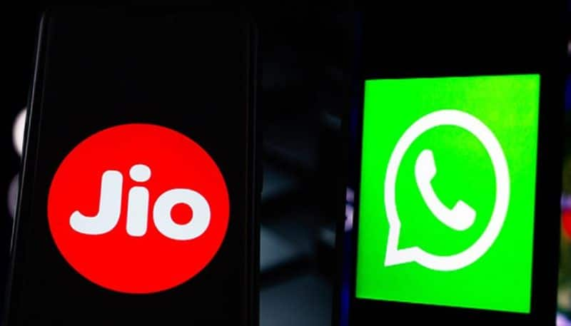 Facebook Jio new deal whats app set up with Reliance Jio eCommerce site Jiomart