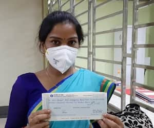 ICDS worker donates two months salary for Corona relief