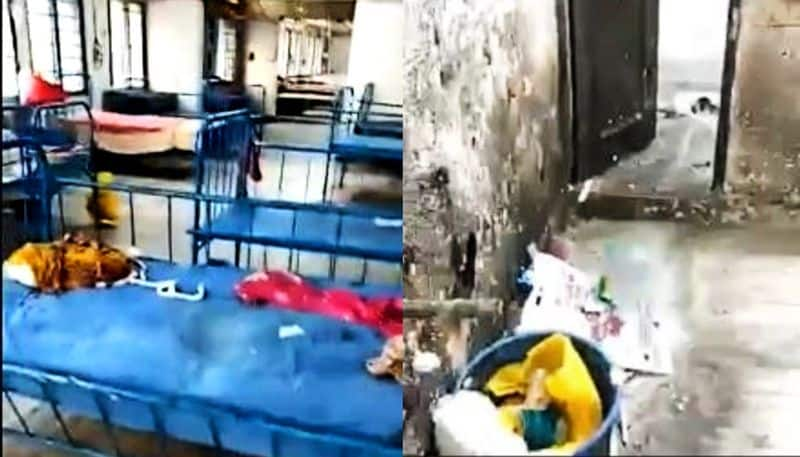 A video complaining about the poor condition of Isolation Ward of RG Kar hopital goes viral