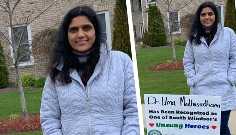 to fight against indian origin  us doctor honored viral video post by adil hussain