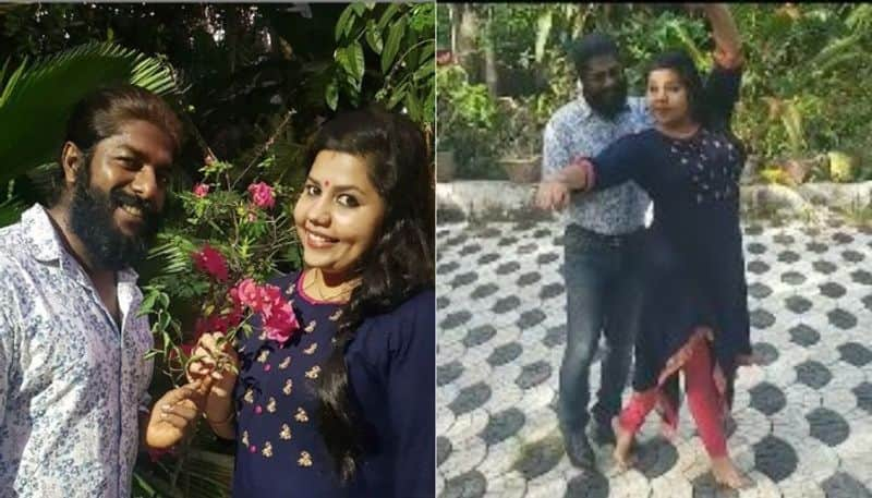 celebrity couples sreekumar and sneha perform a dance at home