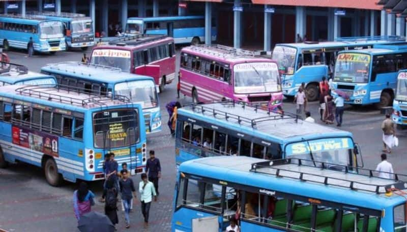 Government buses will run on road from wednesday in Kolkata