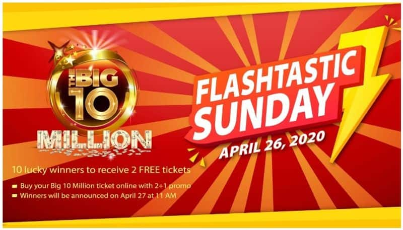 Win 2 Free Tickets for The Big 10 Big Ticket Series 215  Big 10 Flashtastic Sunday promotion