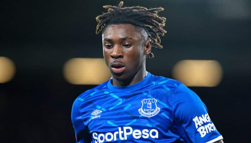 Everton club cut Moise Kin two weeks salary for throw party during lockdown