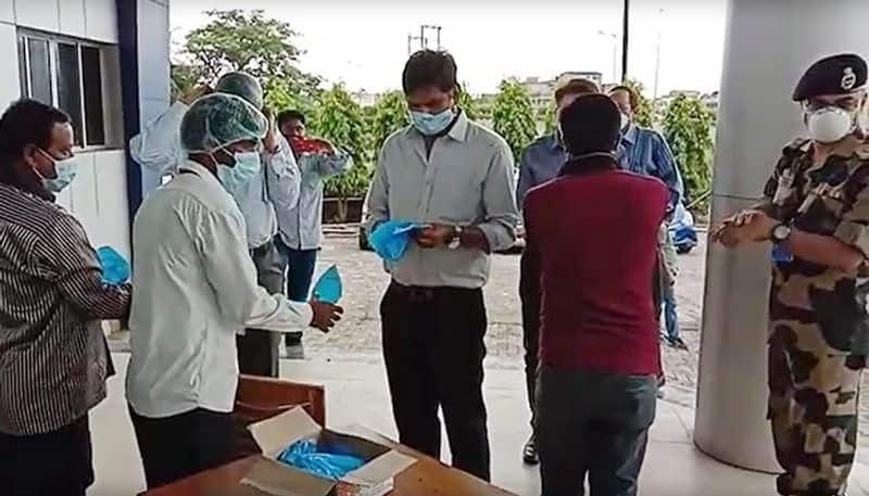 Three migrant labours found corona positive in Mahisadal