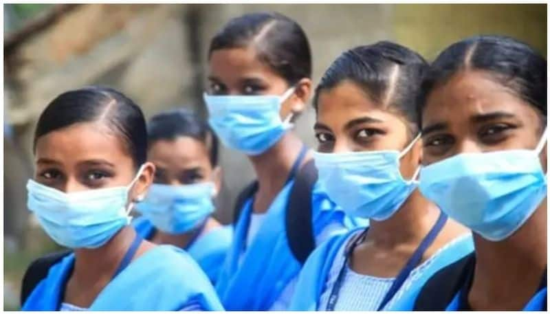 14 lakhs mask for students and teachers