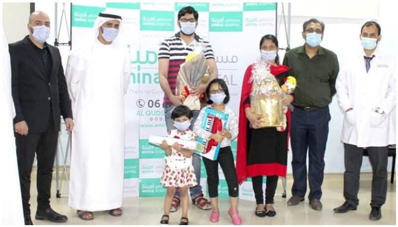 three year old expat becomes youngest to beat Covid 19 coronavirus in UAE