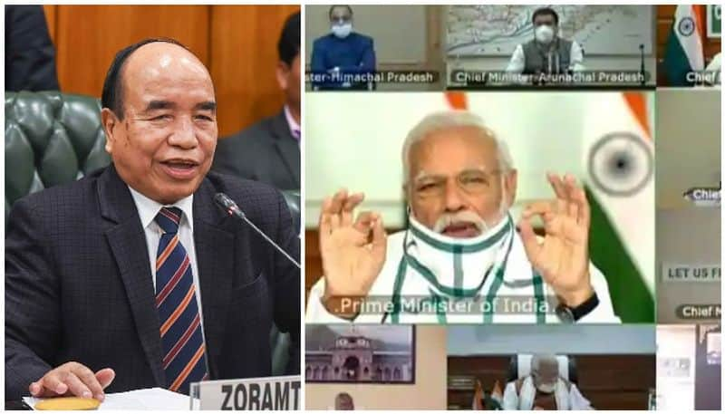I dont understand a word of Hindi complains Mizoram CM on Narendra Modi video meet
