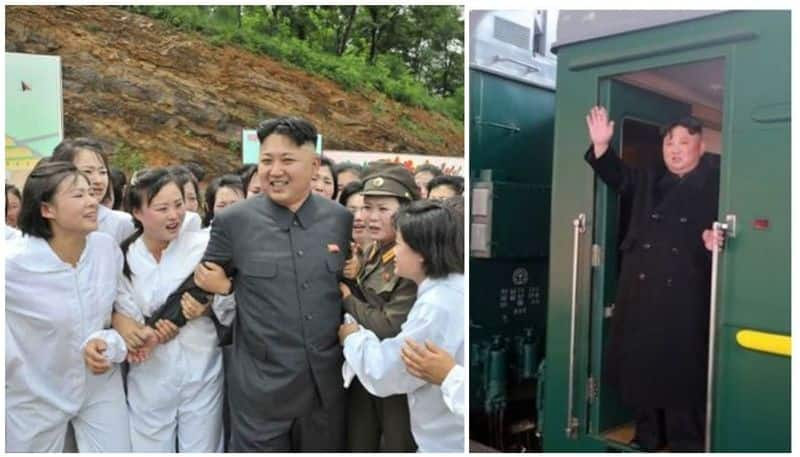wine, lobsters and virgins, the khaki green personal train of kim jong un the missing dictator