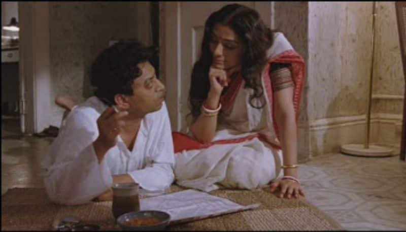 2. 'ദി നെയിം സേകി'ലെ അശോകെ ഗാംഗുലി-ജുംപാ ലാഹിരിയുടെ ഇതേ പേരിലുള്ള നോവലിനെ ആസ്പദമാക്കി മീരാ നായരുടെ സംവിധാനത്തില് 2006ല് പുറത്തെത്തിയ ചിത്രം. പശ്ചിമ ബംഗാളില് നിന്ന് യുഎസിലേക്ക് കുടിയേറിയ ആദ്യ തലമുറയുടെ ആകുലതകള് പറഞ്ഞ ചിത്രത്തില് ഇര്ഫാന്റെ കഥാപാത്രവും ഏറെ ശ്രദ്ധിക്കപ്പെട്ടു.