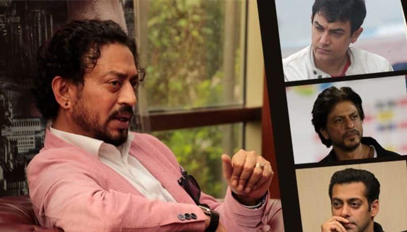 Three khans of bollywood give condolence to irrfan khan family