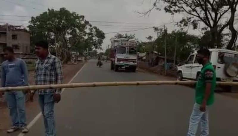 Lock gate installed at entry points of Arambag city