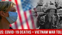 US Covid-19 Death Toll Surpasses American Fatalities In Vietnam War
