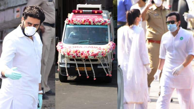 tops celebs are not able to attend rishi kapoor last rites