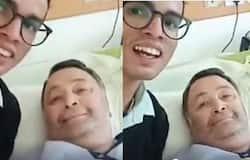 <p>rishi kapoor video from hospital</p>