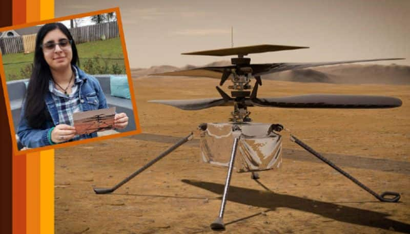 NASA to name its first Mars helicopter after an Indian-origin girl