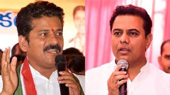 tpcc chief revanth reddy counter to minister ktr