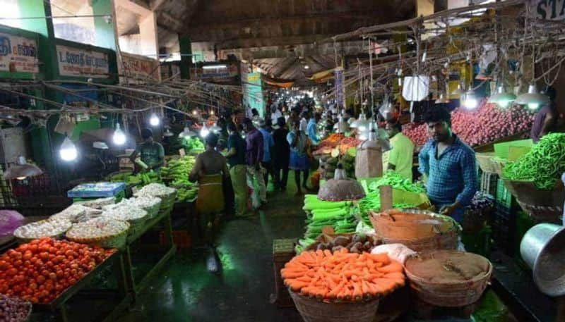 Do not come to Koyambedu market to buy vegetables at retail .. Warning Wholesalers Association ..