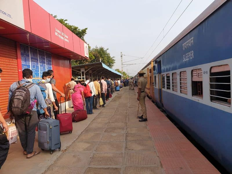 rail set guideline for migrant train ordered collecting fair for state