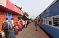 <p>The special train from Chikkabanavara in Bengaluru to Bhubaneswar, Odisha left at 9.26am on Sunday carrying 1,190 passengers.<br /> &nbsp;</p>