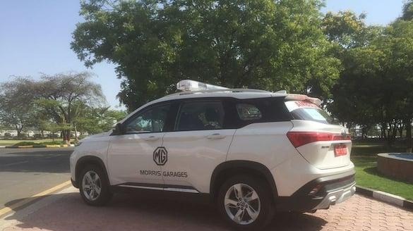 MG Motors donate eight Hector ambulances